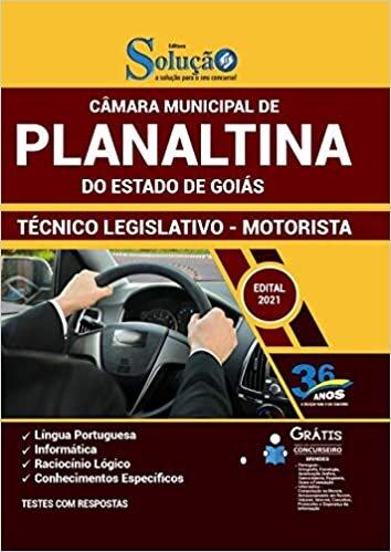 Apostila Câmara de Planaltina GO - Técnico - Motorista