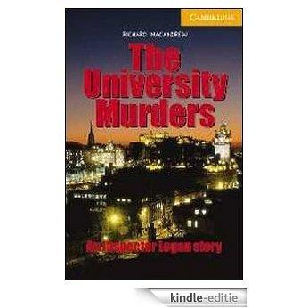 The University Murders Level 4 (Cambridge English Readers) [Kindle-editie]