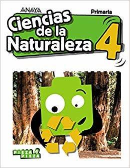 Ciencias de la Naturaleza 4. (Pieza a Pieza)