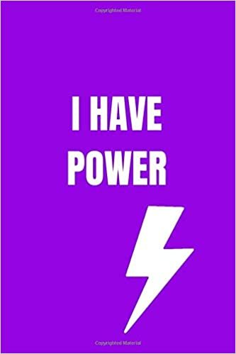 I HAVE POWER: Gym Weightlifting diary, Diary that will facilitate control of exercises while motivating to achieve the goal.  (6 X 9 ,117 pages, color cover).