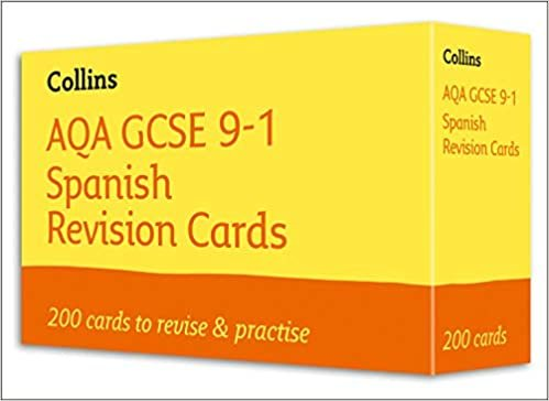 NEW 9-1 GCSE Spanish Vocabulary AQA Revision Question Cards (Collins GCSE 9-1 Revision Cards)