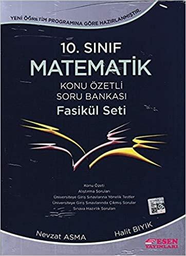 Esen 10. Sınıf Matematik Konu Özetli Soru Bankası Fasikül Seti Yeni: 8 Fasikül