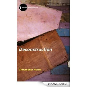 Deconstruction: Theory and Practice (New Accents) [Kindle-editie]