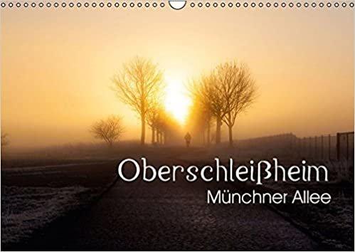 Oberschleißheim - Münchner Allee (Wandkalender 2017 DIN A3 quer): Bilder aus der Umgebung von Oberschleißheim (Monatskalender, 14 Seiten) (CALVENDO Natur) indir
