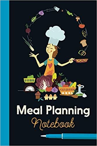 Meal Planning Notebook: Weekly Meal Planner with Grocery List