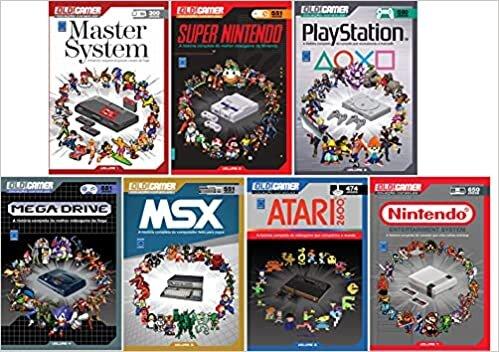 Coleção Dossiê OLD!Gamer Ano 1 (Volume 1 ao 7)