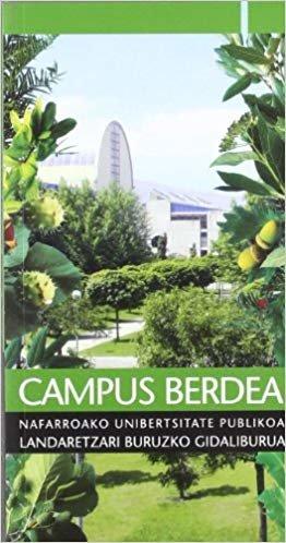 Campus berdea: Nafarroako Unibertsitate Publikoa landaretzari buruzko gidaliburura