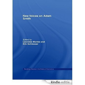 New Voices on Adam Smith (Routledge Studies in the History of Economics) [Kindle-editie]