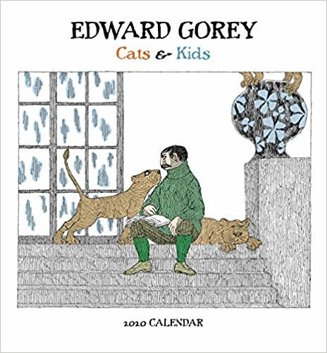 Edward Gorey Cats & Kids 2020 Mini