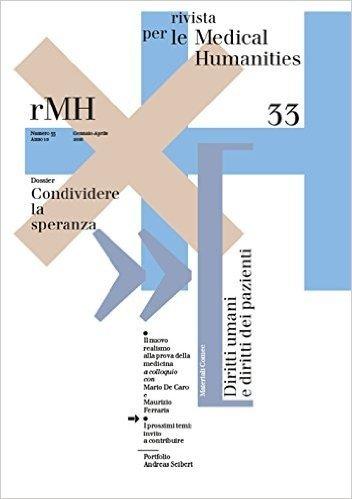 Rivista per le medical humanities (2016): 33