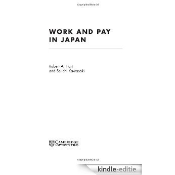 Work and Pay in Japan [Kindle-editie]
