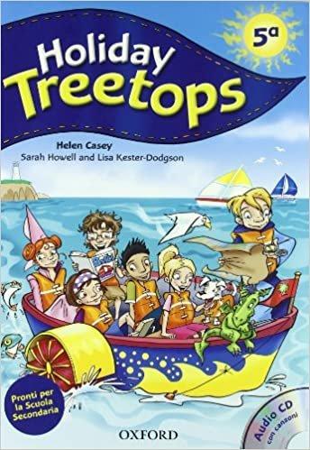 Holiday Treetops Student's Book Für die 5. Klasse elementar Mit CD-ROM