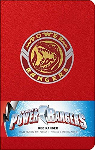Power Rangers: Red Ranger Hardcover Ruled Journal (Insights Journals)