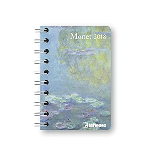 2018 Monet Pocket Diary - teNeues - 8.8 x 13 cm