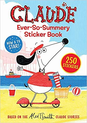 Claude Ever-So-Summery Sticker Book (Claude TV Tie-ins)