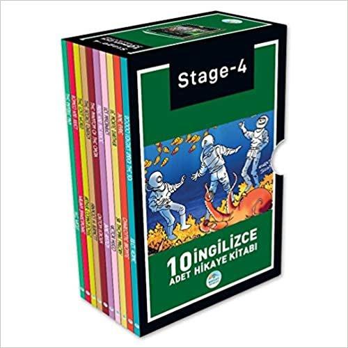 Stage-4 İngilizce Hikaye Seti 10 Kitap