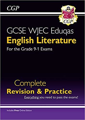 New Grade 9-1 GCSE English Literature WJEC Eduqas Complete Revision & Practice (with Online Edition)