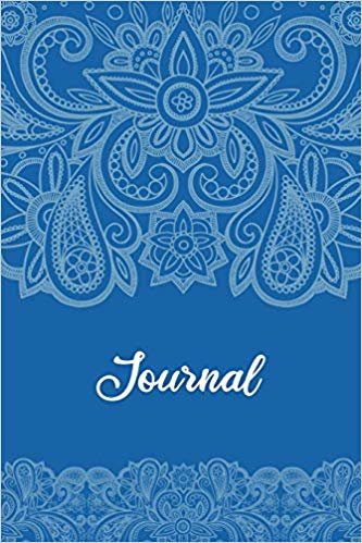 Inmate journal for women: Notebook with inspiring, positive and motivational quotes: Record your thoughts, document your progress: Blue and wite cover
