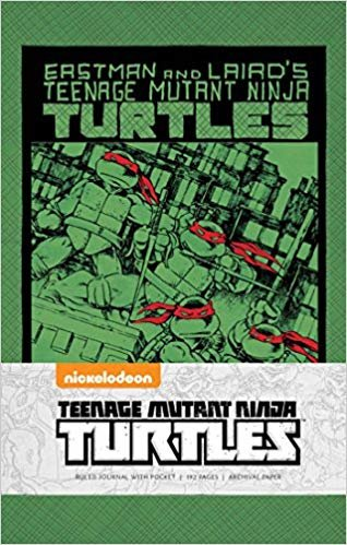 TEENAGE MUTANT NINJA TURTLES: CLASSIC HARDCOVER RULED JOURNAL (Insights Journals)