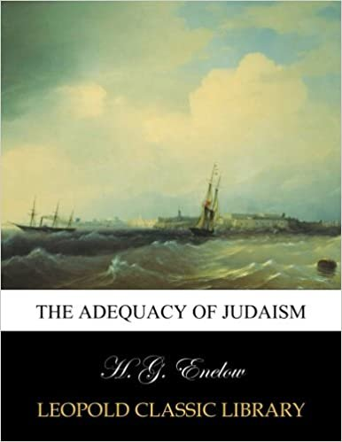 The adequacy of Judaism