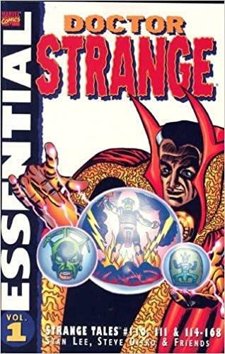 Essential Dr Strange Vol.1: Strange Tales #110,111,114-168 (Tpb Vol 1)