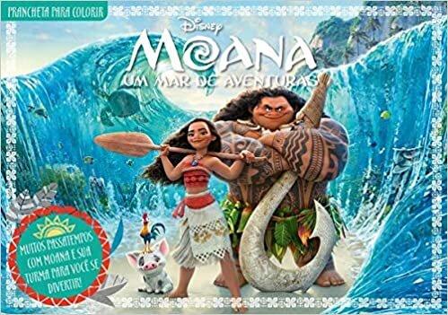 Moana - Disney Prancheta Para Colorir