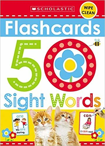 Flashcards - Sight Words (Scholastic Early Learners)