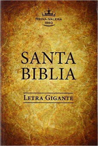 Santa Biblia-Rvr 1960-Letra Gigante