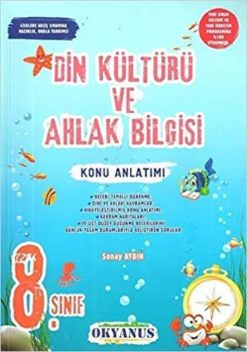 Okyanus Yayınları 8. Sınıf Din Kültürü ve Ahlak Bilgisi Konu Anla