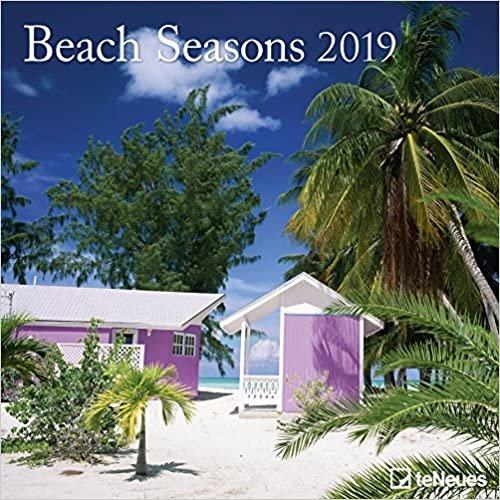 2019 Beach Seasons Calendar - Photography Calendar - 30 x 30 cm