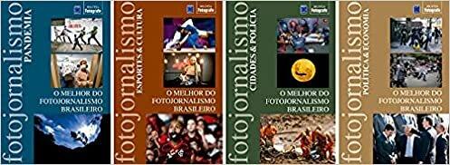 Coleção O Melhor do Fotojornalismo Brasileiro (4 volumes)