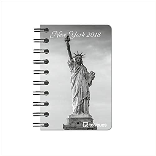 2018 New York Pocket Diary - teNeues - 8.8 x 13 cm