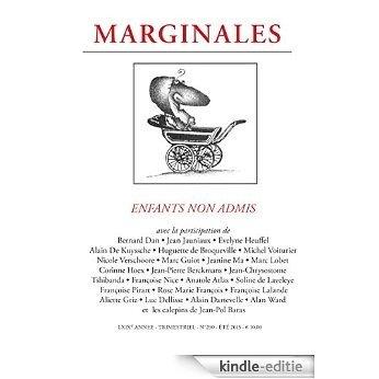Enfants non admis: Marginales - 290 (French Edition) [Kindle-editie]