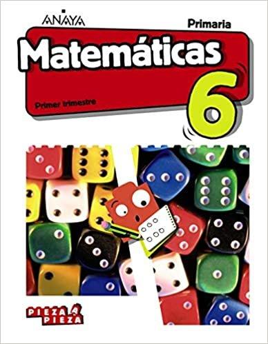 Matemáticas 6. (Incluye Taller de Resolución de problemas) (Pieza a Pieza)