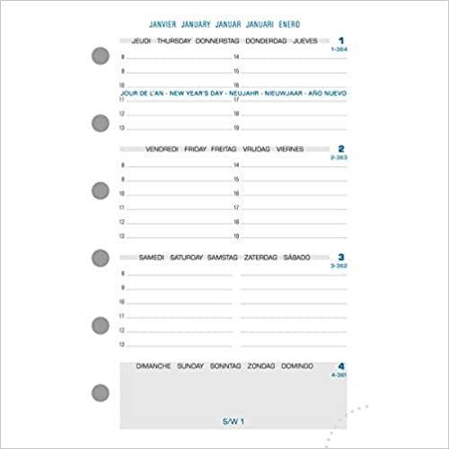 Zamanlayıcı-Takvim 20161hafta auf 2sayfa: Takvim Schreibtischformat