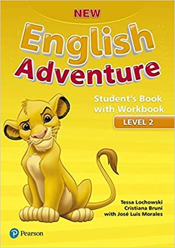 New English Adventure Student's Book Pack Level 2: Student's Book With Workbook
