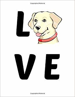 Love: Beagle Notebook. Beagle Gifts for Women men Owners. 8.5 x 11 size 120 pages Wide Ruled Beagle Journal.