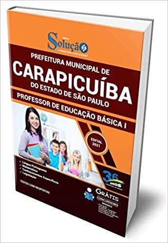 Apostila Carapicuíba SP - Professor de Educação Básica 1