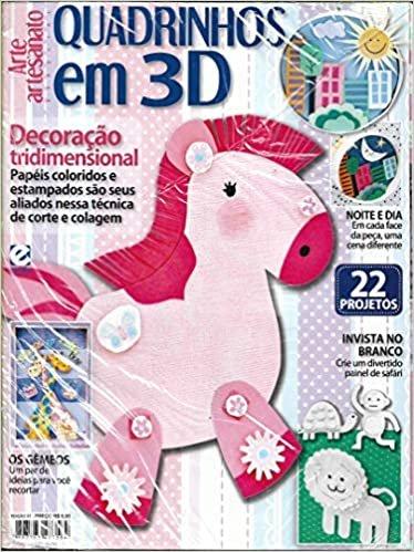 Revista Arte e Artesanato Especial Quadrinhos em 3D nº 57