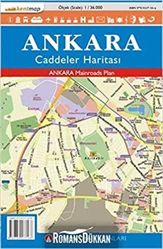 Kentmap Ankara Caddeler Haritası