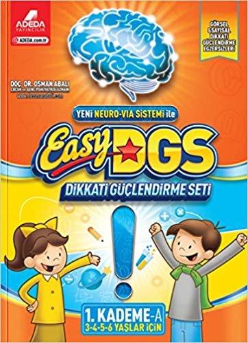Easy DGS Dikkati Güçlendirme Seti 3 4 5 6 Yaslar İçin