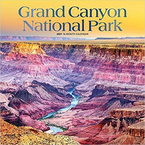 Grand Canyon National Park 2021 - 18-Monatskalender