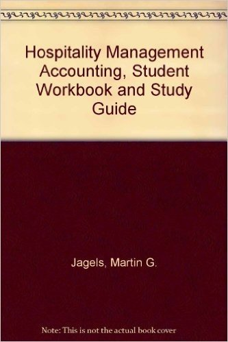 Student Workbook and Study Guide to accompany Hospitality Management Accounting, 10e