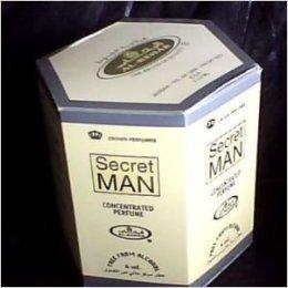 Secret Man by Al-Rehab Bulk Buy - 6 x 6ml Perfume Oils
