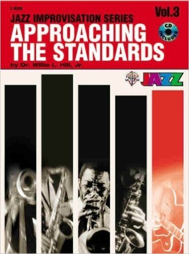 ALFRED PUBLISHING APPROACHING THE STANDARDS V3 + CD - C INSTRUMENTS Jazz&blues sheet C instruments