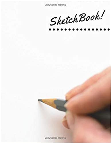 SketchBook: Notebook for Drawing, Writing, Painting, Sketching or Doodling, 110 Pages, 8.5x11