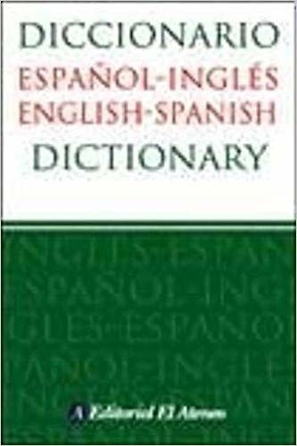 Diccionario Español-Inglés (English-Spanish)