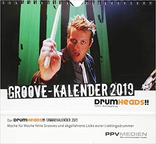 DrumHeads!! Groovekalender 2019: Wochenkalender