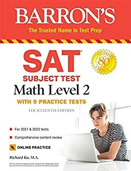 SAT Subject Test Math Level 2: With 9 Practice Tests (Barron's Test Prep) (English Edition)