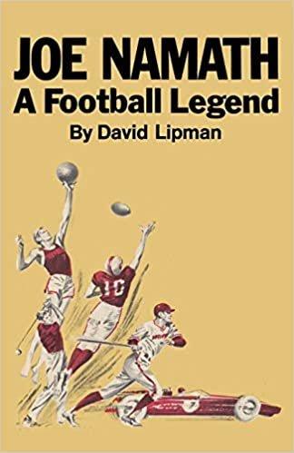 Joe Namath A Football Legend
